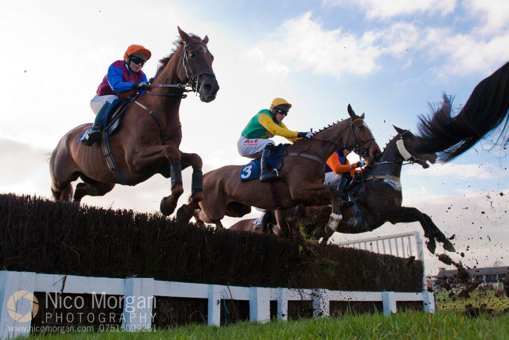 Horse racing at Garthorpe
