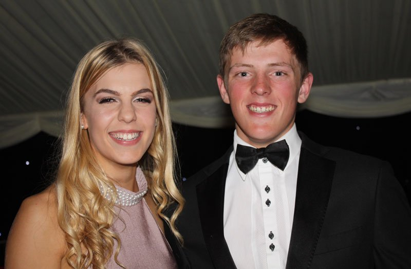 Joanna Hewitt and Philip Armson